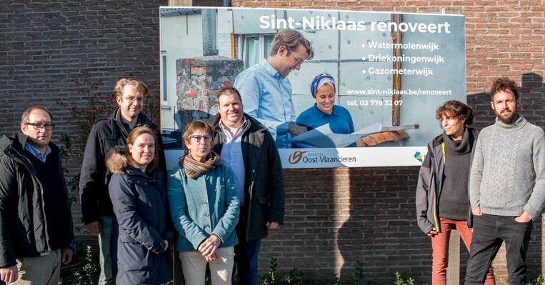 Wijkrenovatie met Renoseec in Sint-Niklaas