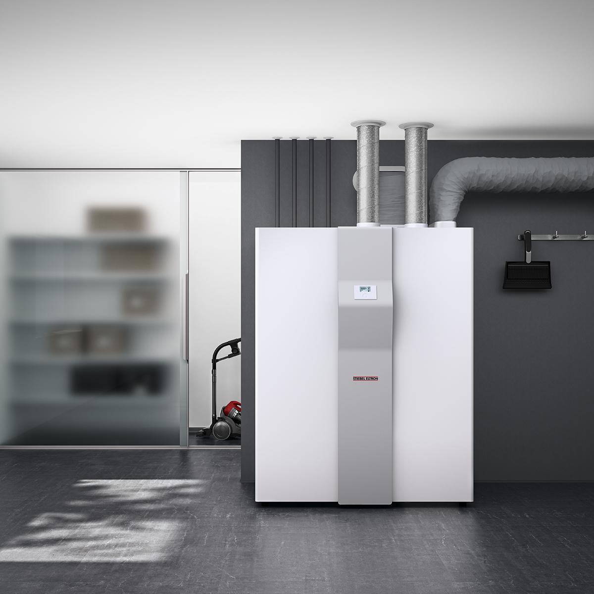 LWZ 504 all-in-one ventilatietoestel met inverter warmtepomp