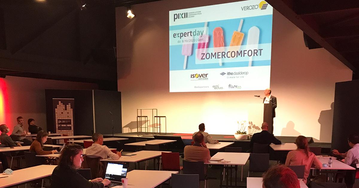 Pixii Expert day Zomercomfort 2020
