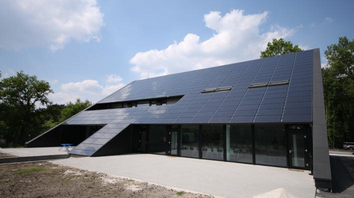 Zero Energy Passiefkantoor van Stebo in Genk