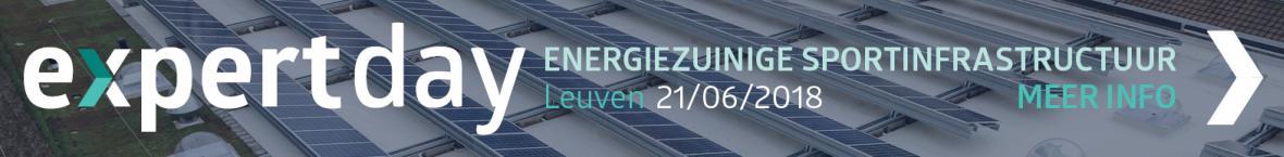 Expert Day Energiezuinige Sportinfrastructuur