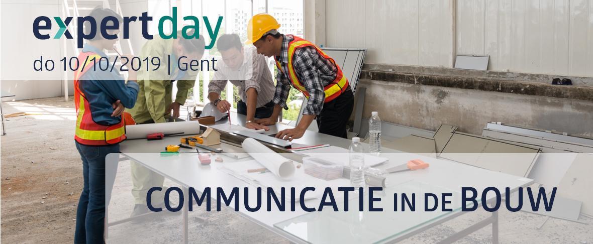 Banner communicatie in de bouw