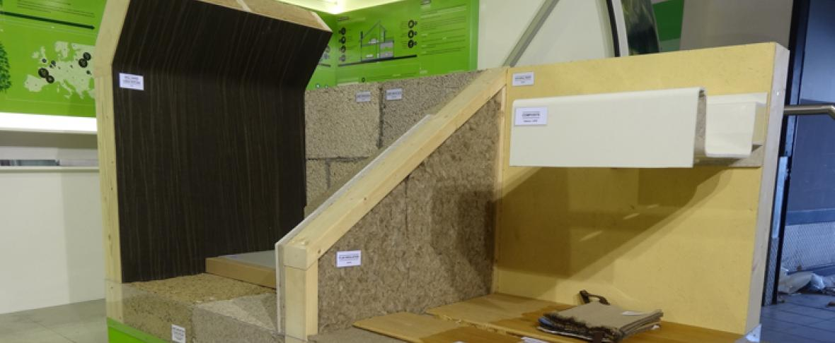 Foto biologische bouwmaterialen van BAS Bouwen vzw