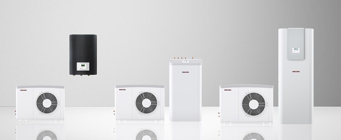 WPL classic inverter lucht | water-warmtepomp wordt verkocht in drie volledige installatievriendelijke sets