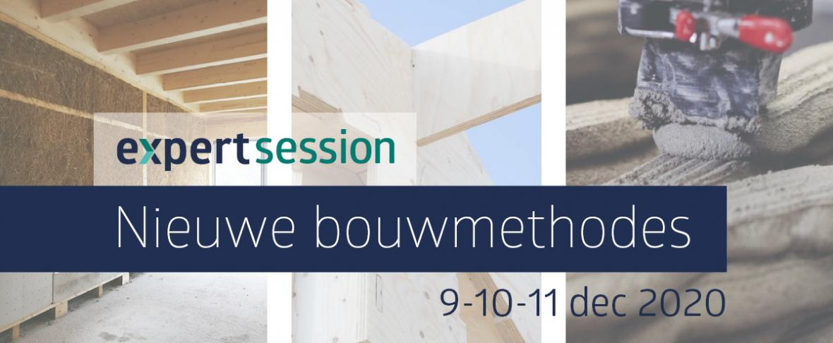 Visual Expert Session met het onderwerp Nieuwe bouwmethodes