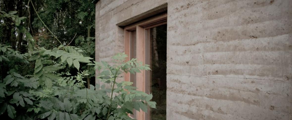 Leembouw voorbeeld - Maison de chasse - Aalst