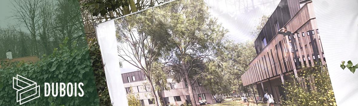 Dubois Houtskeletbouw - Woestgoed Wondelgem - 2021 - Pixii