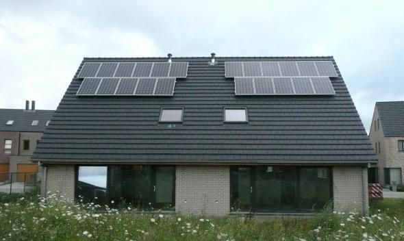 nul-energie woningen Hamme