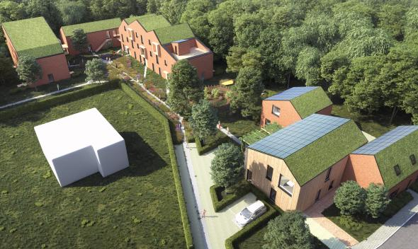 Bio-ecologisch en passief cohousingproject