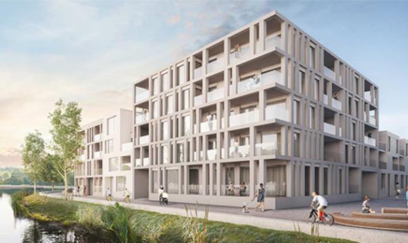 Woonproject Schelde-Eiland Oudenaarde