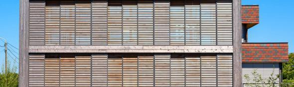 Zuidgevel passiefwoning Overijse, 5+ Architecten bvba