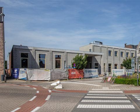 Rooilijn Architectuur Scholenbouw GBS Het Oogappeltje Gemeentelijke Basisschool Dasstraat Wommelgem