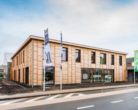 Bio-ecologisch en passief kantoorgebouw