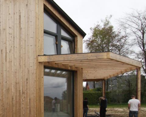 houtskelet BEN woning E30 energiezuinig bio ecologisch nieuwbouw
