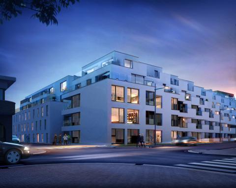 Leskoo - residentieel woonproject - oudenaarde - Sentinel Kinetic - d systeem met WTW