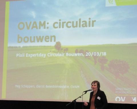 Presentatie Circulair Bouwen door Ovam