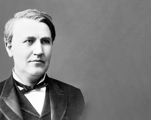 Foto van Thomas Edison
